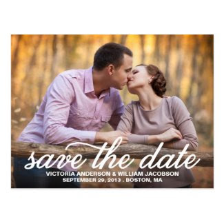 SAVE OUR DATE | SAVE THE DATE ANNOUNCEMENT POSTCARDS
