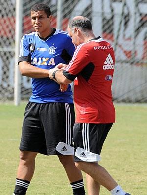Welinton, Treino Flamengo (Foto: Alexandre Vidal / Fla Imagem)