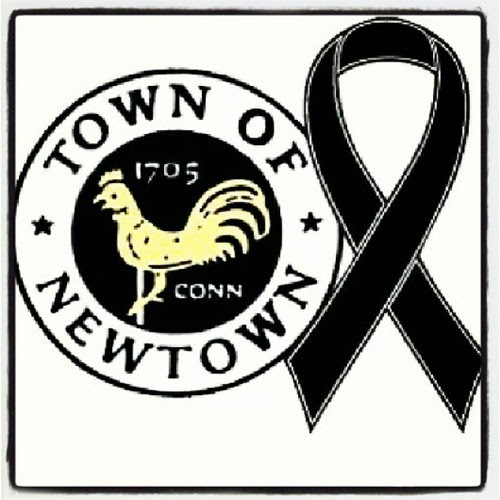The #patriots black ribbon helmet decals for tonights game. #NewtownCT #patsnation
