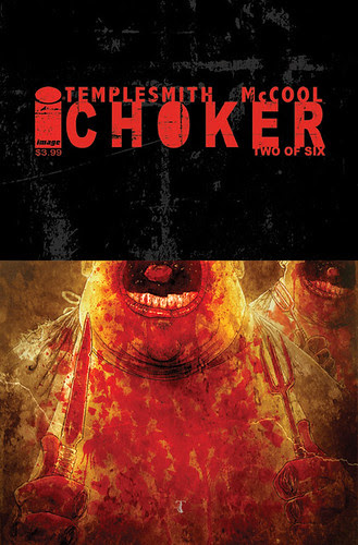 CHOKER ISSUE 2 cover