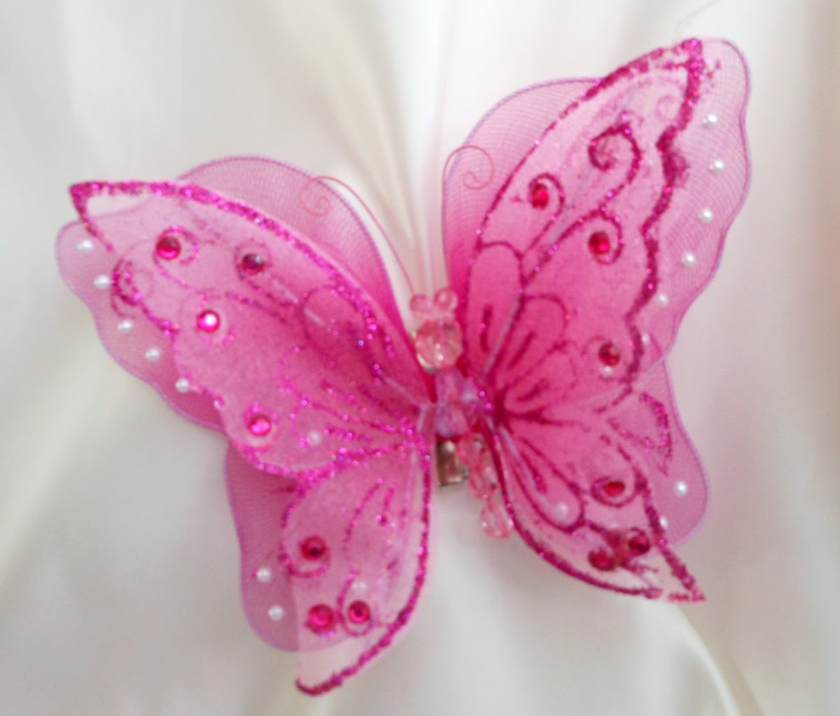 Pink Butterfly, Beautiful Pink Butterfly Image, #16936