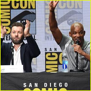 Will Smith Praises Netflix at 'Bright' Comic-Con Panel