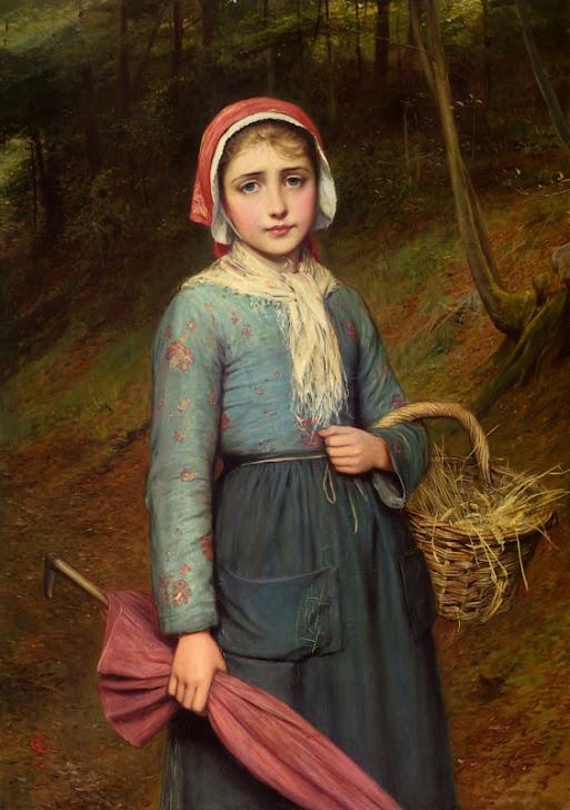 Charles Sillem Lidderdale. Красная Шапочка / Little Red Riding Hood