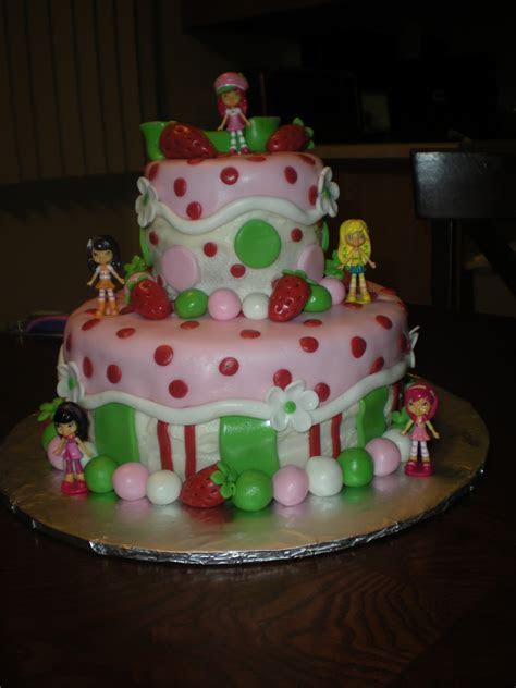 Carlynne's Cakes: Strawberry Shortcake Birthday Cake