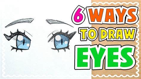 draw  types  eyes tutorial youtube