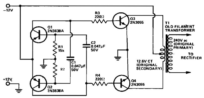 2000 watt inverter circuit diagram