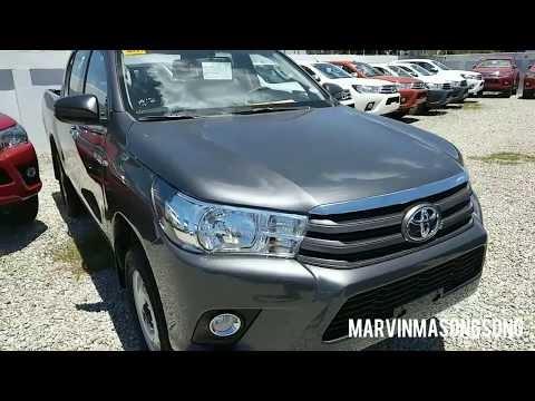 VIDEO: Toyota HILUX 2.4L 4x2E MT (Philippines) - Gray Metallic - Walk Around & Interior (Philippines)