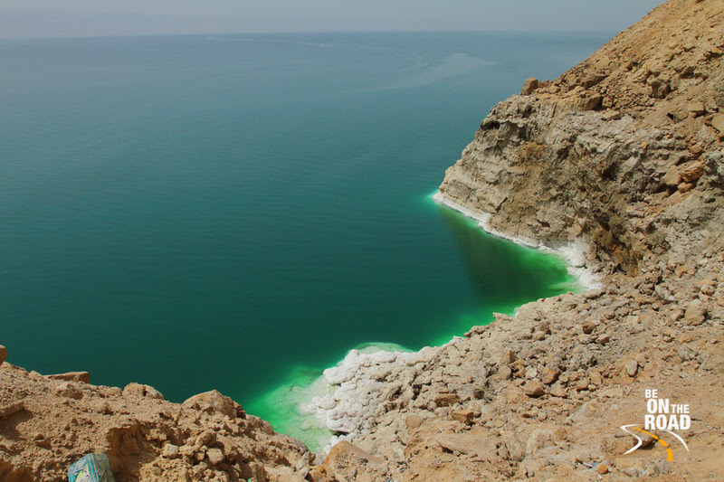BE ON THE ROAD Travel Photography | Sankara Subramanian C: Dead Sea &emdash; Salt rocks by the Dead Sea from a view point, Jordan