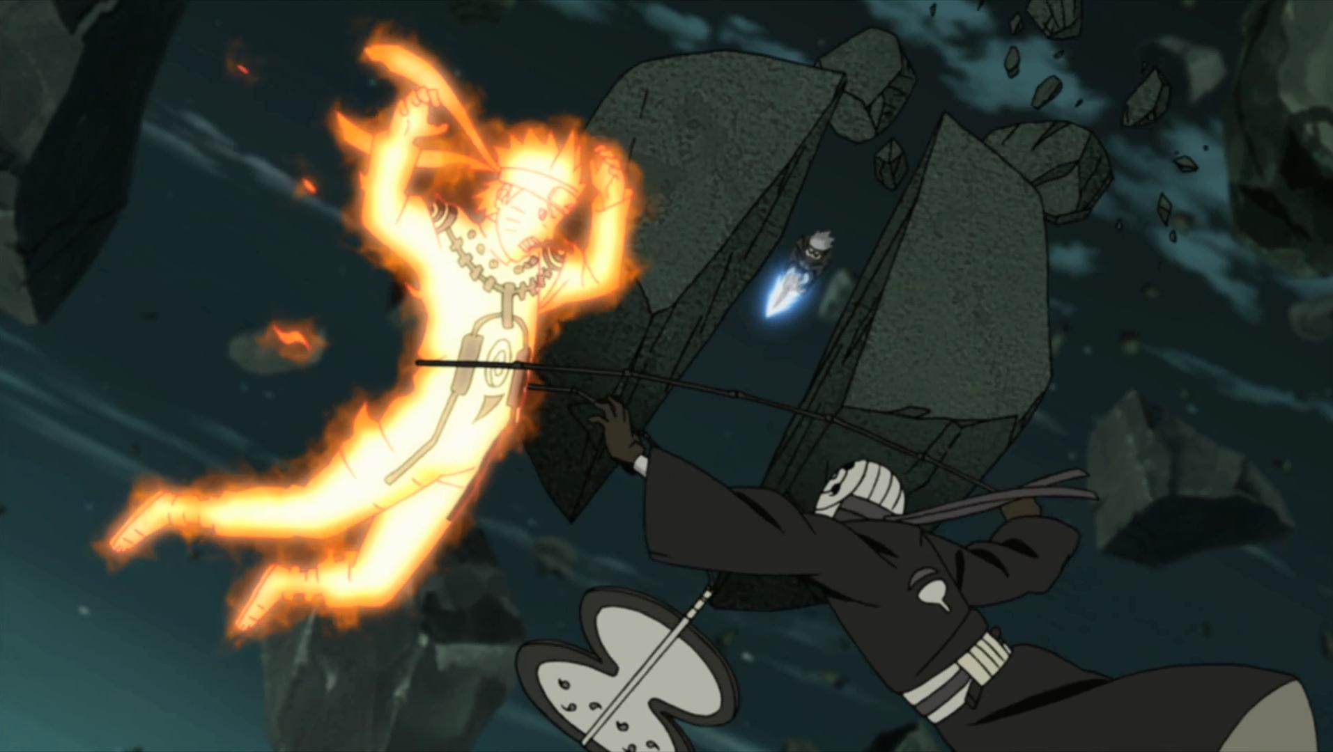 Batman Vs Superman Animasi Bergerak Naruto Kyubi Vs Sasuke Devil Images