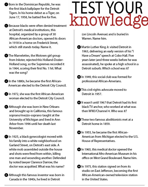 5 Best Images of Black History Month Trivia Printable ...