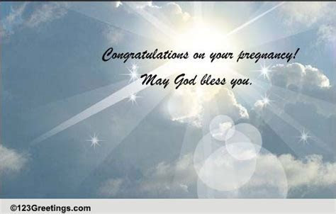 May God Bless You! Free Pregnancy eCards, Greeting Cards