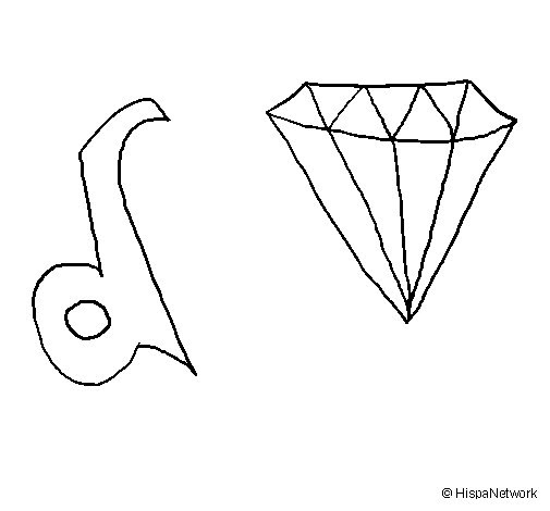 List Of Synonyms And Antonyms Of The Word Diamante Dibujo