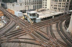 Chicago Transit Authority Control_loop_junction on Wikimedia Commons