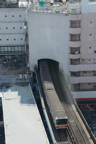 渋谷ヒカリエから