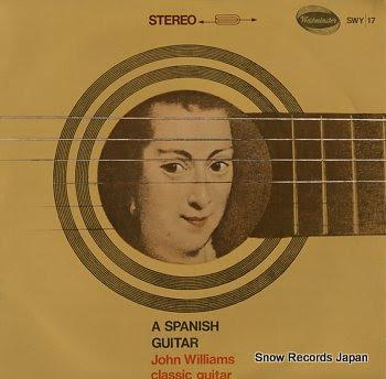 WILLIAMS, JOHN spanish guitar, a