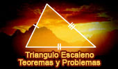 Triángulo Escaleno: Teoremas y Problemas (Spanish-language version).