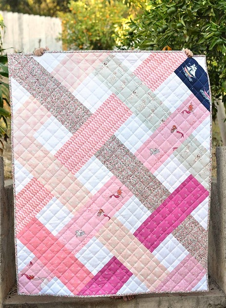 Out to sea betty quilt and scrap giveaway kitchen for Kitchen quilting ideas