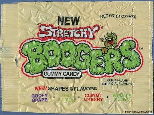 Stretchy Boogers Candy