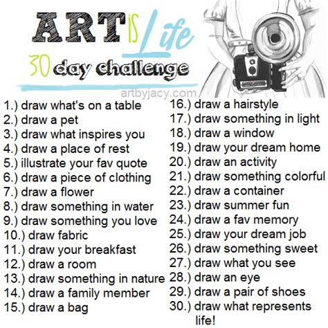 awesome art  life  day challenge