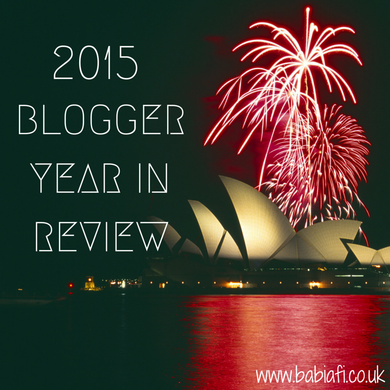 2015 - Blogger Year In Review
