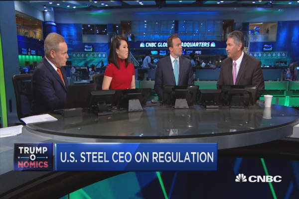 U.S. Steel CEO: Regulation has to be done smartly