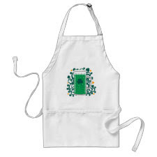 St. Patrick's Day Green Beer apron