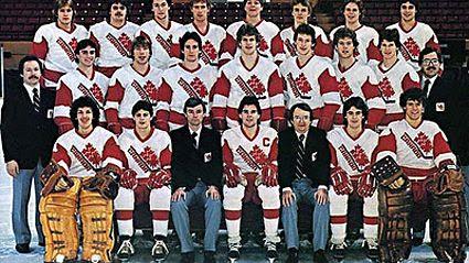 1982 Canadian Junior Team, 1982 Canadian Junior Team