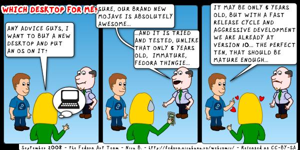 [fedora weekly webcomic]