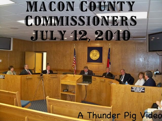 Macon County Commissioners July 12, 2010 Meeting