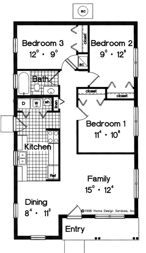 simple small house floor plans house plans pricing
