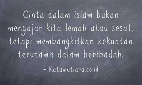 kata kata mutiara islami kehidupan  cinta