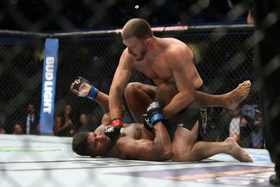 Stipe Miocic, Alistair Overeem, UFC 203, MMA (Foto: Getty Images)