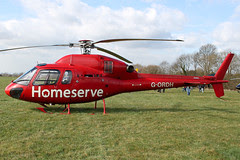 G-ORDH - 2006 build Eurocopter AS355-N Ecureuil II, at the 2011 Cheltenham Festival