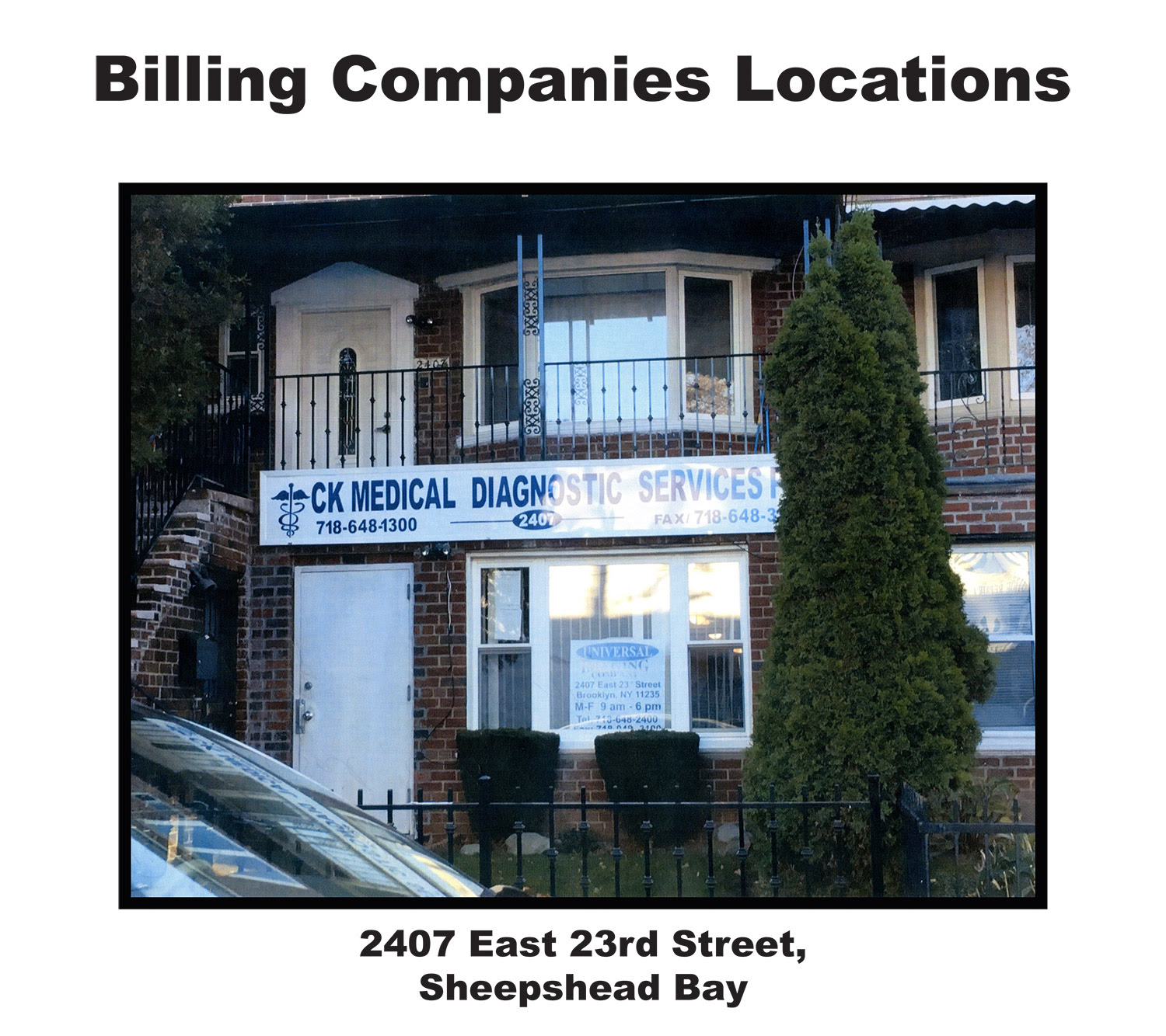 Jericho New York Apartments: MEC&F Expert Engineers : INSURANCE FRAUD: NYPD Surgeon Dr