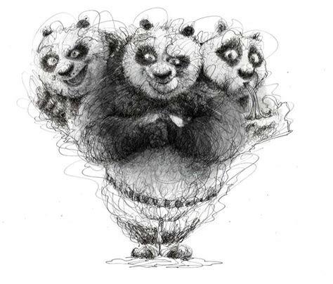 wonderful  stroke drawings  erick centeno
