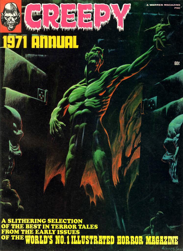 Kenneth Smith - Creepy Yearbook 1971 (Warren, 1971)