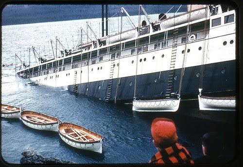 That Sinking Feeling, the Princess Kathleen, 1952 Lena Point near Juneau, Alaska