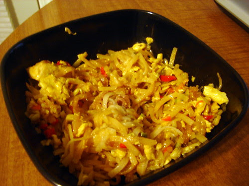 Leftover Homemade Pad Thai