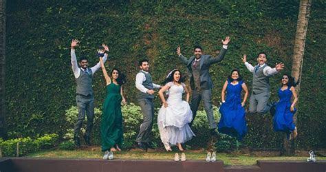 Real Weddings: Shravya&Erwin?s Blue And Green Wedding