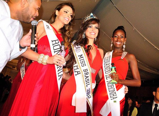 Kamila Salgado, de 23 anos, de Belém (PA), venceu o Miss Mundo Brasil 2010