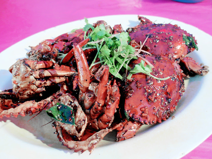 JB seafood - black pepper crab