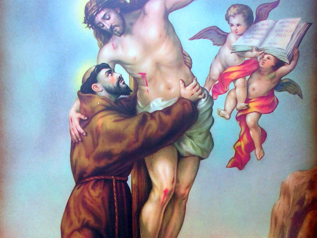 Risultati immagini per san Francesco d'assisi immagini