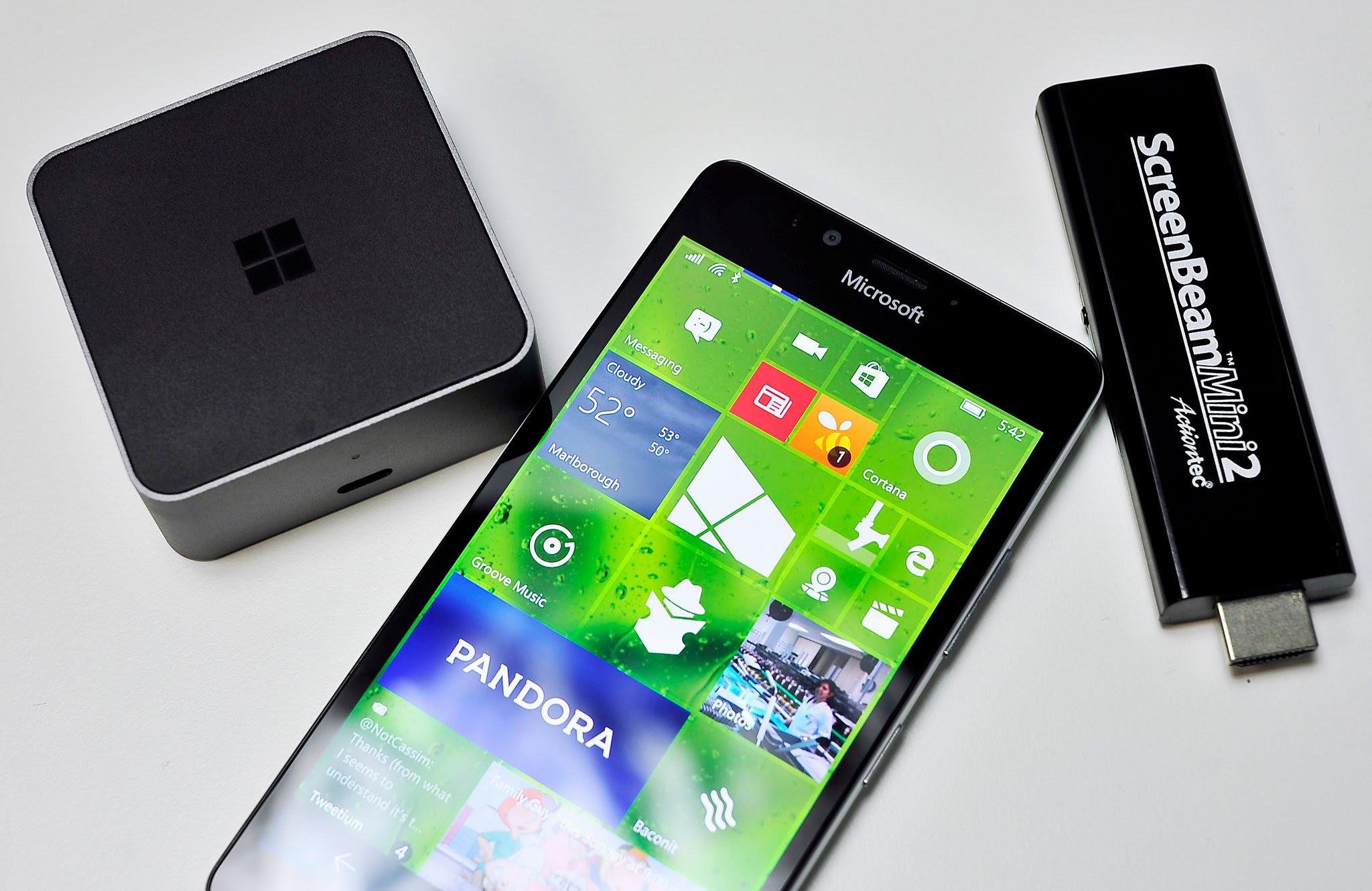 Lumia Continuum
