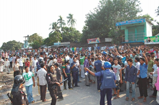 Hindus attacked in Bangladesh over false facebook post