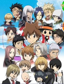 Katekyo Hitman Reborn Characters Wiki