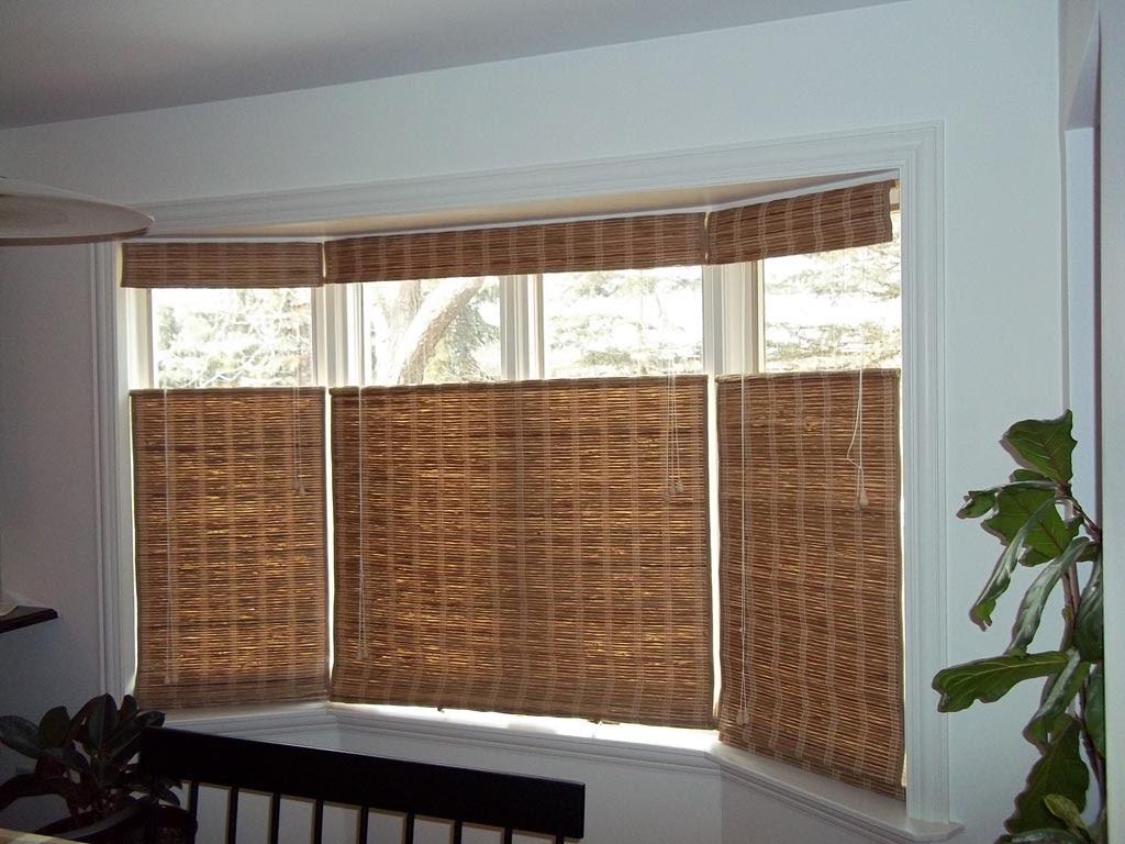 Bay Window Blinds Ideas  Window Treatments Design Ideas