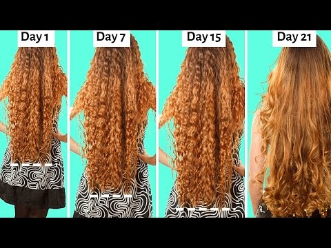 9 Super Easy Hair Hacks To Get Long, Thick ,Healthy & Beautiful Hair