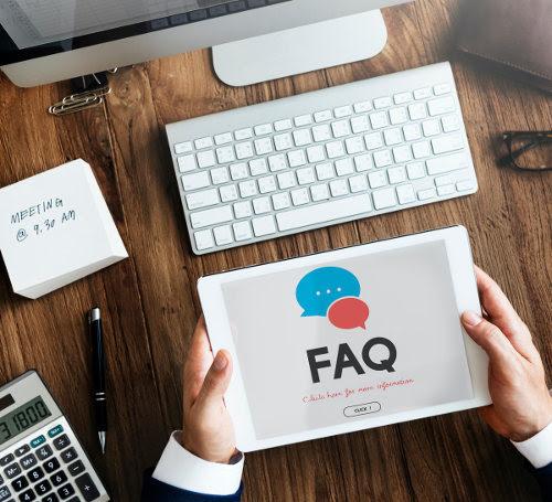 FAQ tips