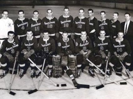 1956-57 Seattle Americans team