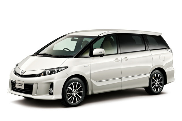 "Toyota Estima hybrid special specification car aeras ""VERY Edition"" (7 seater) (White Pearl Crystal Shine)"